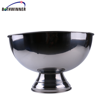 Champagn bowl with stand ,h0tkB2 stainless steel champagne bucket for sale