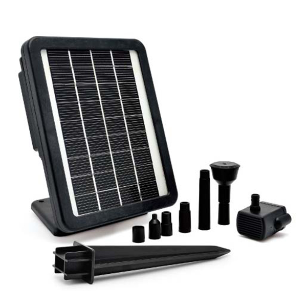 recycle water solar powered water pump