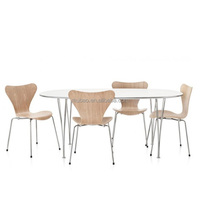 China factory modern wooden chair table and chair rental
