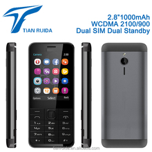 "2.8"" GSM WCDMA850 2100 Cheapest 3G function basic feature mobile cell phone 3310 facebook whatsapp FM mp3mp4 BluetoothTorch GPRS"