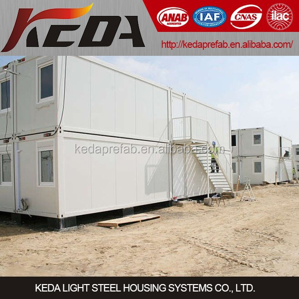 Guangzhou Construction Site Office Container Home Temporary House
