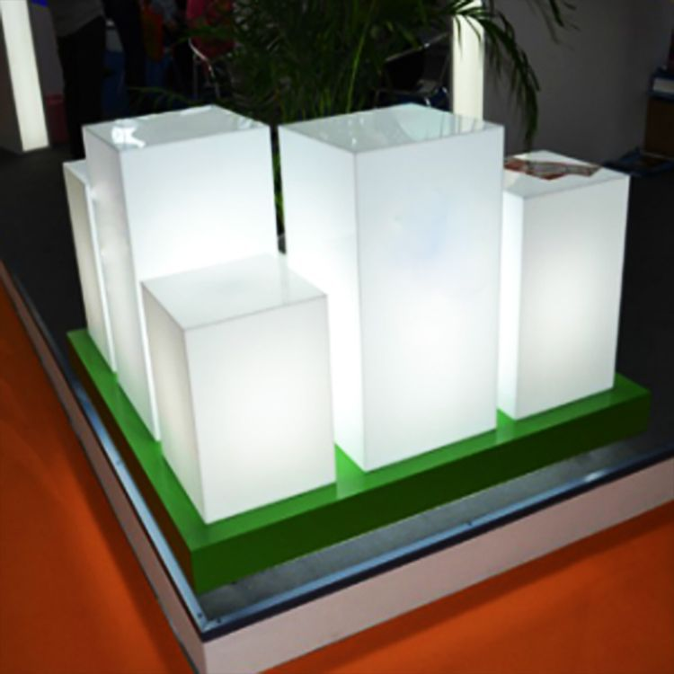 transparent advertisement led motional light boxes