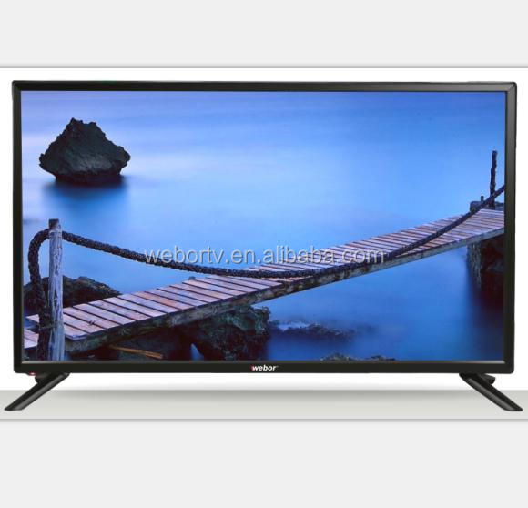 "Dled TV Wholesale Factory 32""-65"" Flat and Plastic Screen Support 32inch 12V DC LED TV"