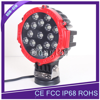 High Quality Motorbike Led Work Lights 51w led work light