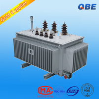 dyn11 high voltage 10kv grade step up step down amorphous alloy oil-immersed transformer