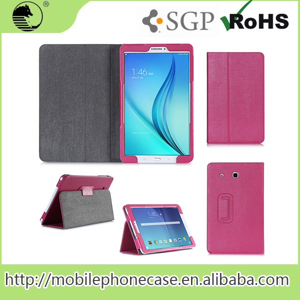 China Supplier Tablet Leather Case For Samsung Tab E T560