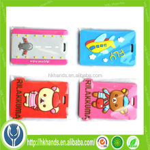 promotion gift cartoon wholesale luggage tag