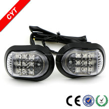 High quality 9 LEDs 3W 12V Yellow 2000K CYT IP67 Motorcycle/Car LED light Turn signal light