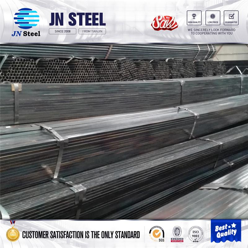 half round pipe Black steel pipe erw steel pipe tube