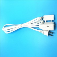 UL Listed us 3 outlet electrical extension cord