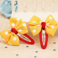 2016 Hot-Sales cute baby treasure dot lovely bowknot wholesale hair bands