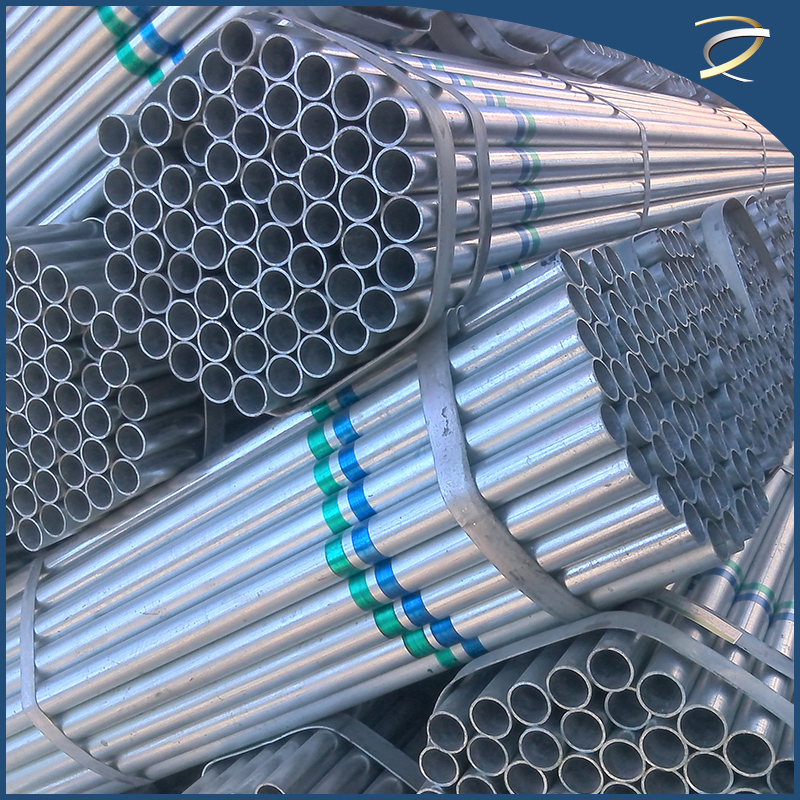 galvanized schedule 40 steel pipe with both couplings and screws