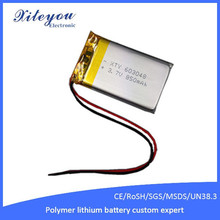 Rechargeable Battery li-ion 603048 3.7v 850mah with KC Electronic Product Batteries