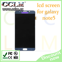 mobile phones display for samsung galaxy note 5 , touch screen digitizer assembly for note 5