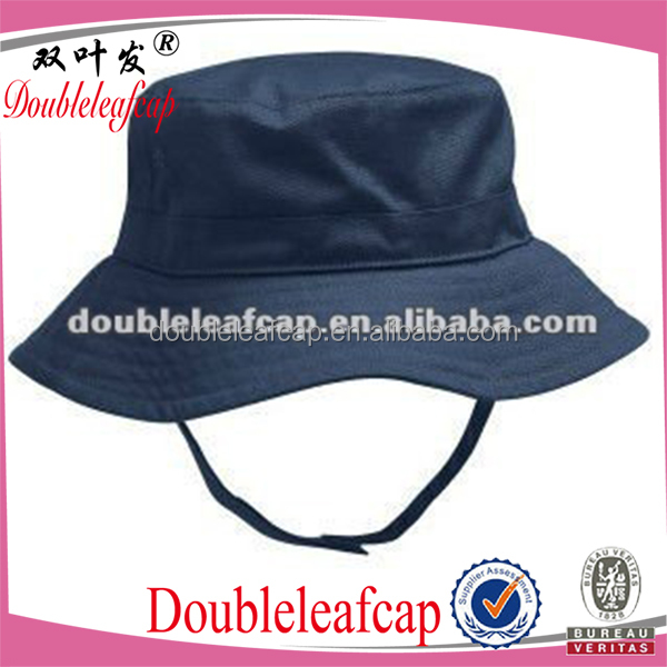 Cheap Infant chin strap bucket hat
