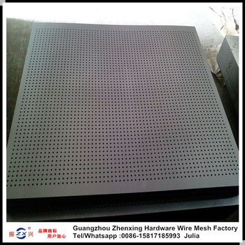 Galvanized perforated metal panel /perforated steel plate