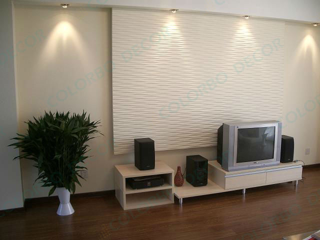 Home Depot Soundproofing Decorative Panel  Buy Decorative Panel,3d Wave Pane -> Panneau Tv Mural