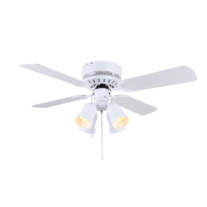 42 inch ceiling fan with lights, can be remote control or pull chain control
