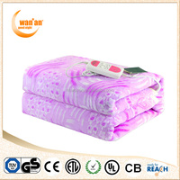 60W Washable Anti-Pilling Fleece Electric Korean Blanket For Cold Winter
