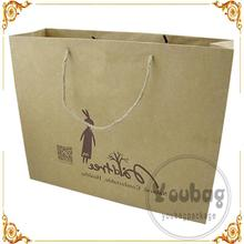 Professional durable carrier paper bag made in guangzhou