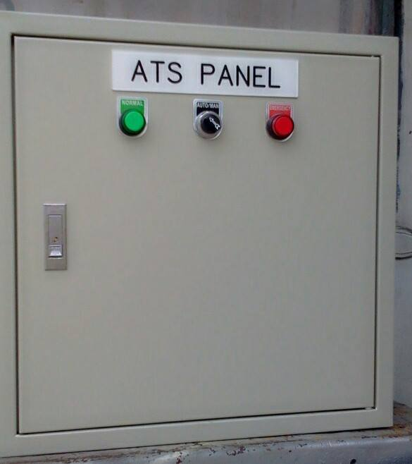 W.T. AUTOMATIC TRANSFER SWITCH / MANUAL TRANSFER SWITCH