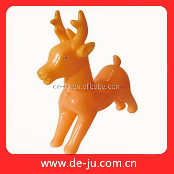 Running Elk Small Size Cheap Plastic Deer Toy