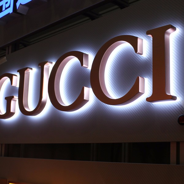Led open sign making in china acrylic metal sign high quality advertising led sign