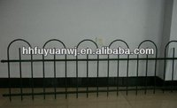 garden powder coated wrought iron mesh fence panel