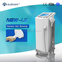 Totally painless treatment laser beauty equipment permanent result 10 layer laser bars diode laser hair removal 3 years warranty