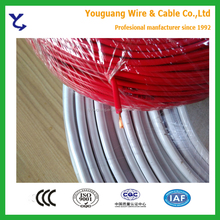 300/500V Thin 0.75mm Internal Wiring Copper Flexible Electrical Wire Cable