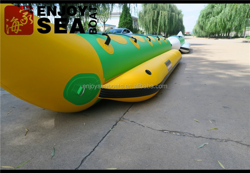 Good Quality low price hot sale inflatable banana boat for sale