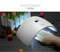 best sale manicure pedicure led gel nail dryer sun 9s 24w lamp 365nm 405nm with infrared sensor