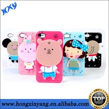 IMD High Quality Plastic Phone Case For iPhone 4 4s compact mirror