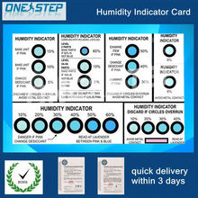 PCB dry packing labels, humidity indicator labels, humidity indicator card for PCB packing