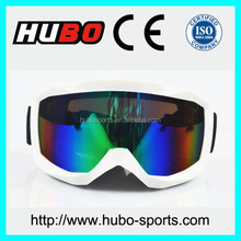 TPU Frame and Polycarbonate Lenses Material motocycle goggles