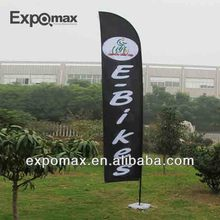 High quality wholesale flying banners/beach flag pole