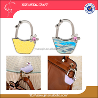 Premium Gift Vara Bow Basket Design Foldable Purse Hook
