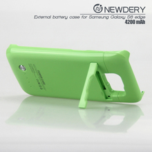 super high capacity power bank battery case s6 edge charger mobile powerbank for samsung s6 edge