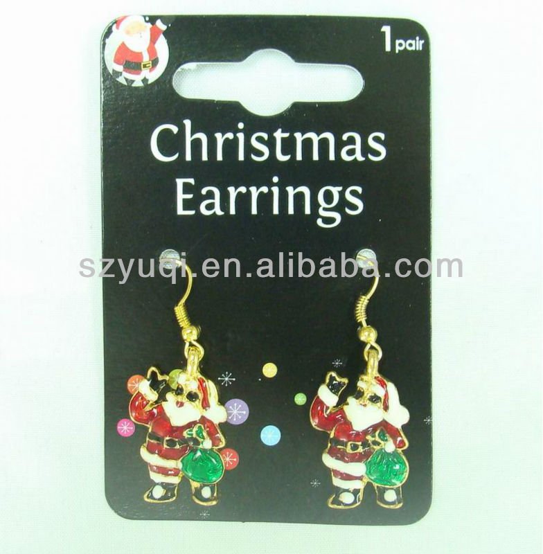 Mini Father Christmas eardrop christmas gift