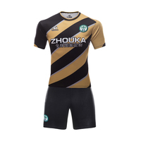 Guangzhou manufacturer sublimated soccer jersey custom blank striped soccer jerseys cheap original uniforms football wholesale