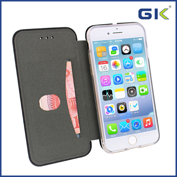 [GK] PU Skin With Magnetism Filp Cover For iPhone 7 Mobile Phones Case