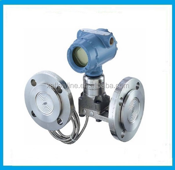 flange type digital pressure transmitter with display