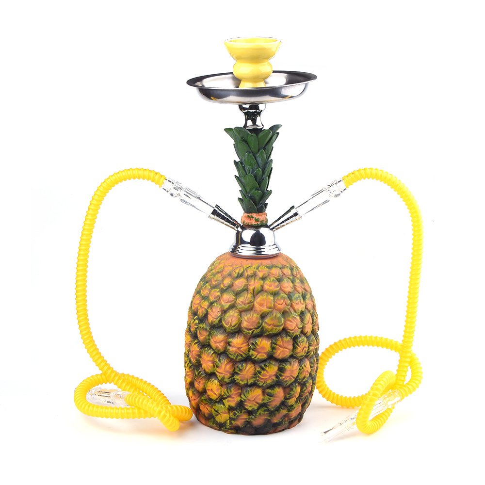 2017 New Design Hookah Shisha Colored Smoke Pineapple Shisha Flavour