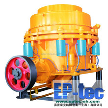 China famous gyratory hydraulic cone crusher for mining/ore