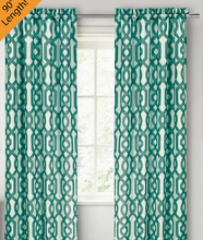 wholesale print curtain window for bed room