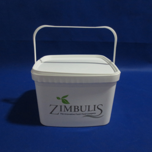 food grade 1 gallon bucket plastic pail packs square bucket