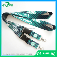 Lanyard china wholesale/customised dye sublimation lanyard