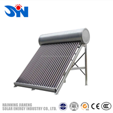 Home Used Solar Systems, Low Pressurized Solar Energy Hot Water Heater, Mini Evacuated Tube Solar Collector
