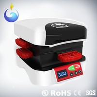 High-Profile Aluminum Panel 600W 0.5-20 Mins Automatic Hamburger Grill Machine
