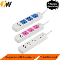 240V Extension Power Strip 3 Way Socket with 4 USB Charging Ports